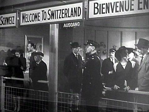 Swiss Customs sercurity at Kloten Airport
