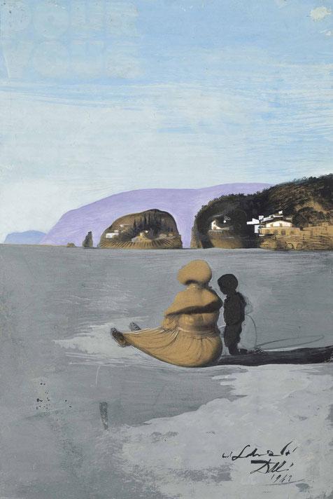 """Salvador Dalí, """"Adolescenza"""" (1941)"""