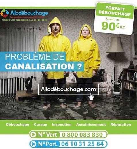 Contact AlloDébouchage