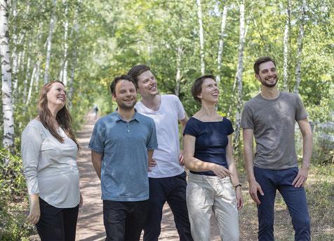 Das Team des Zentrums für Ruhe, Klarheit & Kraft