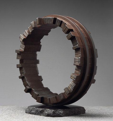 Circle - 48's harmony   mild steel / 48x45x22cm