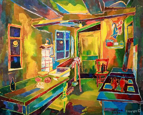 Bettina Heinen-Ayech (1937-2020) - Im Keller des Schwarzen Hauses zu Solingen
