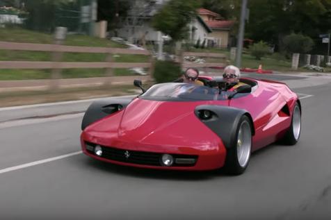 Michalak Conciso Michalak Conciso Einzelstück auf Ferrari Chassis mit Alu-Karosse