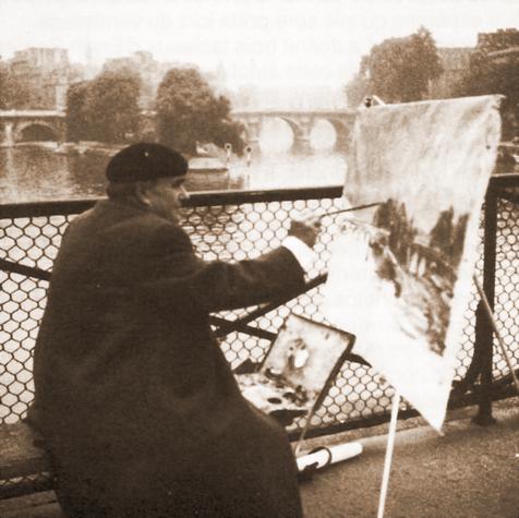 Erwin Bowien, Paris, 1964