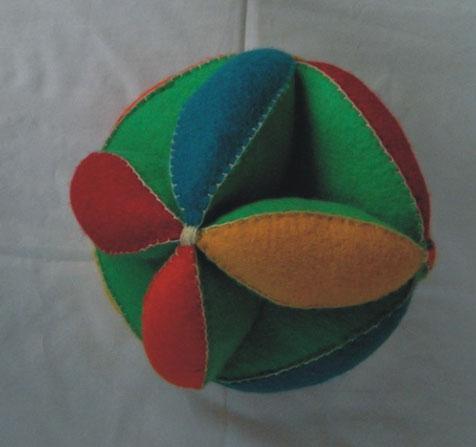 bola de feltro