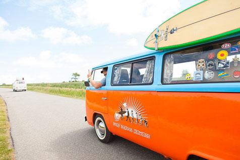 Mit dem VW Bus auf Reisen gehen