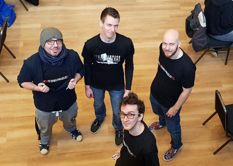 Ein Teil des Judge und Helfer Teams auf dem Ice Crystal Cup in Düsseldorf.