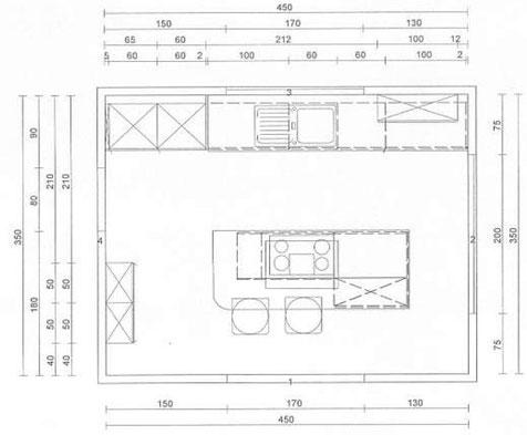 Küchenplanung - Stilmontagen   {Küchenplanung grundriss 99}