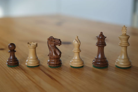 Pewatronic chessmen, king size 70mm