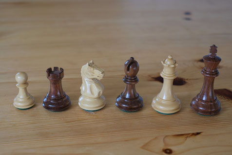 Pewatronic chessmen, king size 87mm