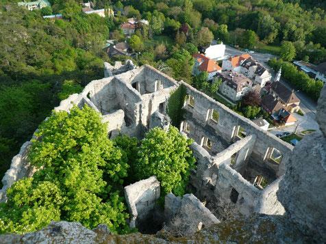 廃墟の城 ラウエンシュタイン