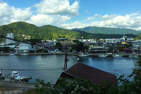 Dorf auf der Halbinsel Izu