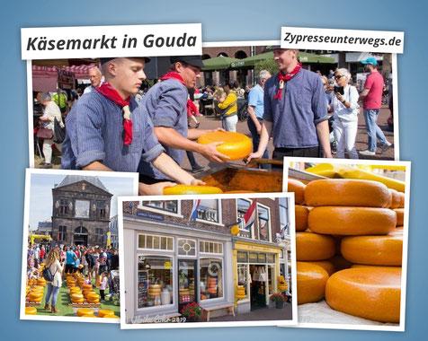 Tagesausflug zum Käsemarkt nach Gouda