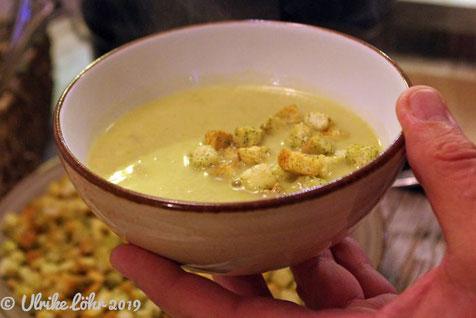 Kartoffel-Lauch-Süppchen
