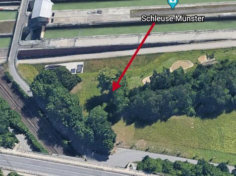 Google-Earth - Ausschnitt