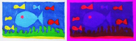 jouer avec les transformations des couleurs