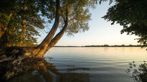 Jabelscher See - Wohnmobilaussicht auf´s Wasser