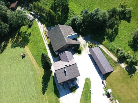 Luftaufnahme Apartments Frechhof