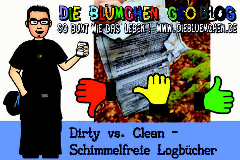 Titelbild Dirty vs. Clean - Schimmelfreie Logbücher