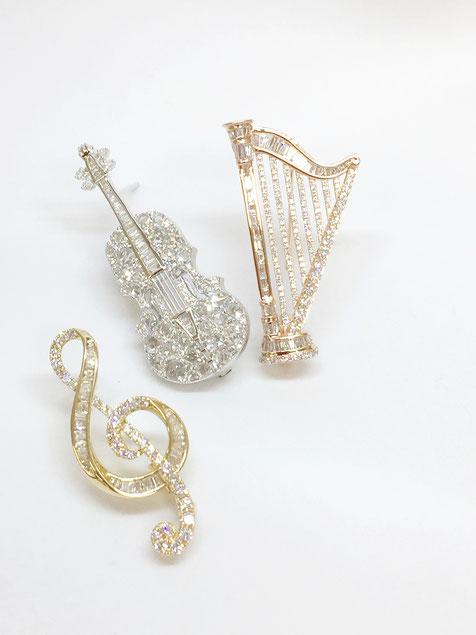 J.B.ジャパン ダイヤモンドブローチコレクション イメージ