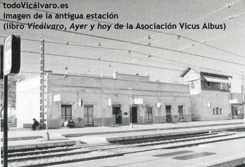 Imagen de la antigua estación de tren