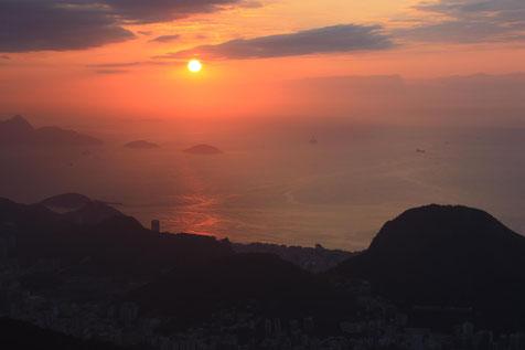 praia de São Conrado, no Rio de Janeiro