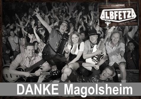 ALBFETZA Europas Oktoberfest Party Band