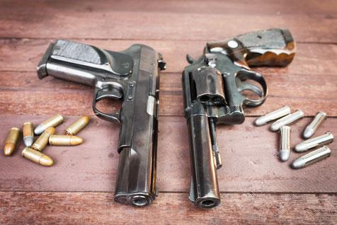 Pistolen und Revolver, Großkaliber und Kleinkaliber: Sportschießen im SSV Rurtal Hückelhoven (Schießsport Kreis Heinsberg)