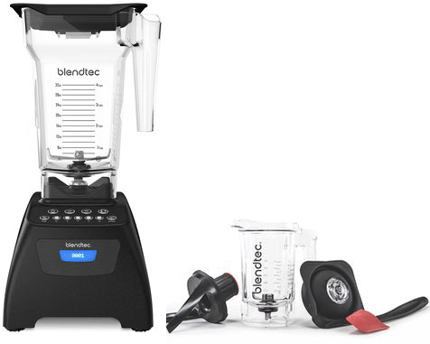 Blendtec Classic 575 mit Twister Jar