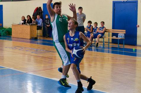 Tommaso Gaveglio top scorer con 13 punti - Marco Mondino ph.