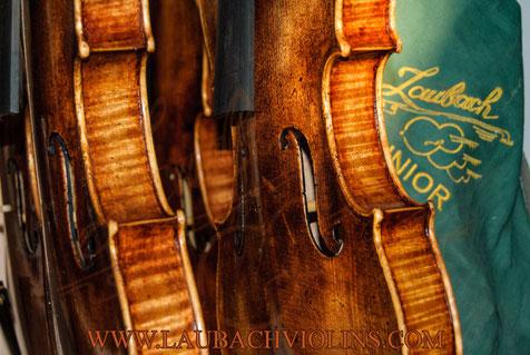 Old Italian viola varnish from Venice