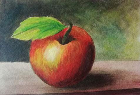 Obst - Acryl-Malerei - Stilleben