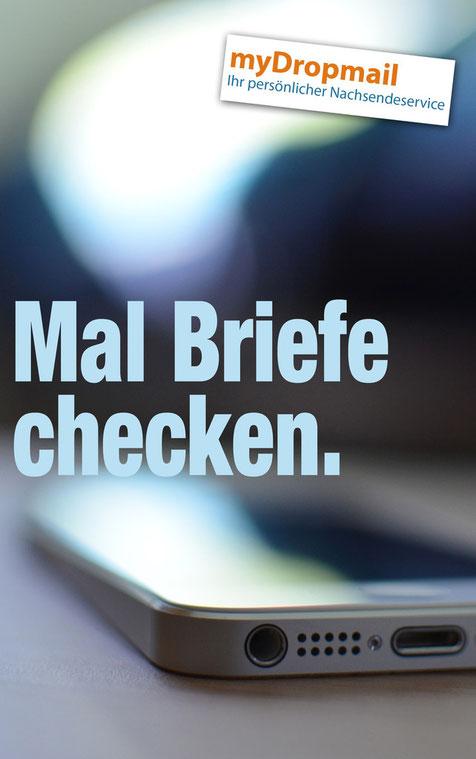Briefe online anschauen, Scanservice Briefpost