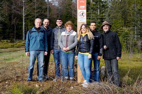 Vorstandsteam Verein Langlaufgilde Hohtann Belchen an der Försterspur