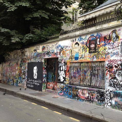 5 bis rue de Verneuil - © www.gainsbourgforever.com