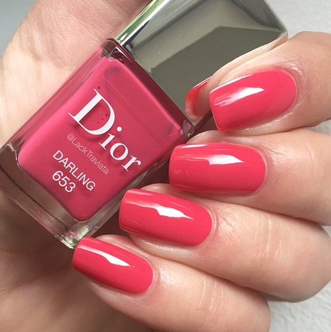 swatch Dior Darling 653 by LackTraviata