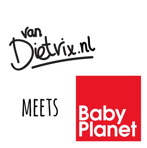 Baby Planet samenwerking T-shirts