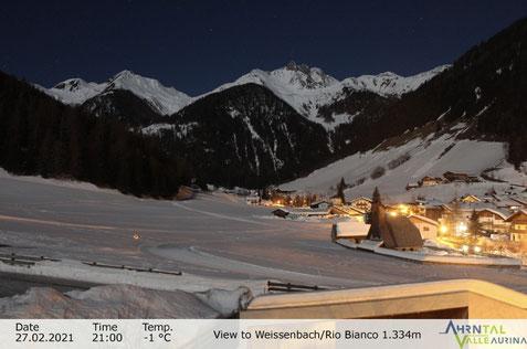 Weißenbach Webcam beim Haus der Vereine