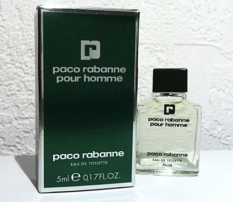R - EAU DE TOILETTE 5 ML - MINIATURE DIFFERENTE DE LA PRECEDENTE