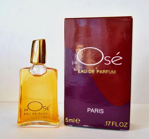 J'AI OSE - EAU DE PARFUM 5 ML - BC DORE