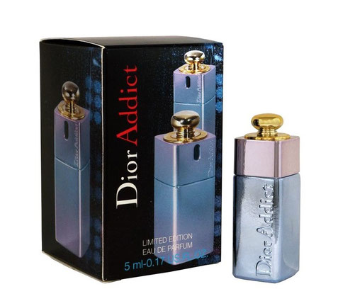 DIOR ADDICT - VERSION ARGENTEE, EDITION LIMITEE EAU DE PARFUM, 5 ML