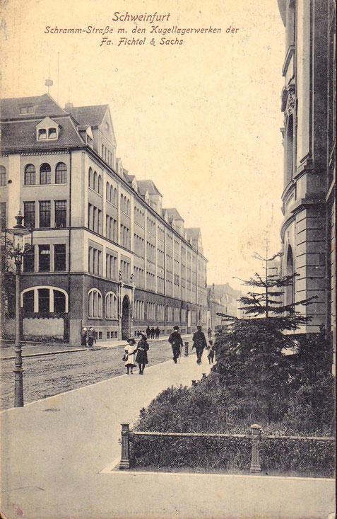 Schrammstraße - ca. 1914
