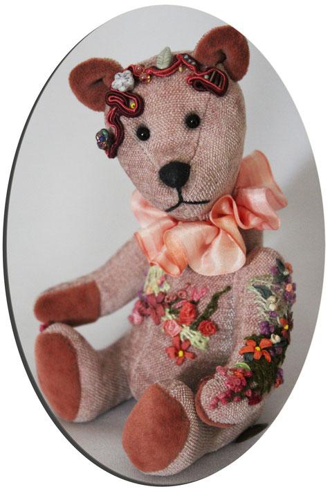 "Sammler Teddybären collectors Teddy Bears ""Fleur"" Handmade"
