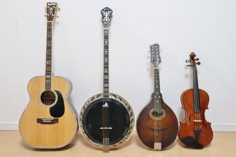 アイリッシュ音楽 弦楽器 ケルト