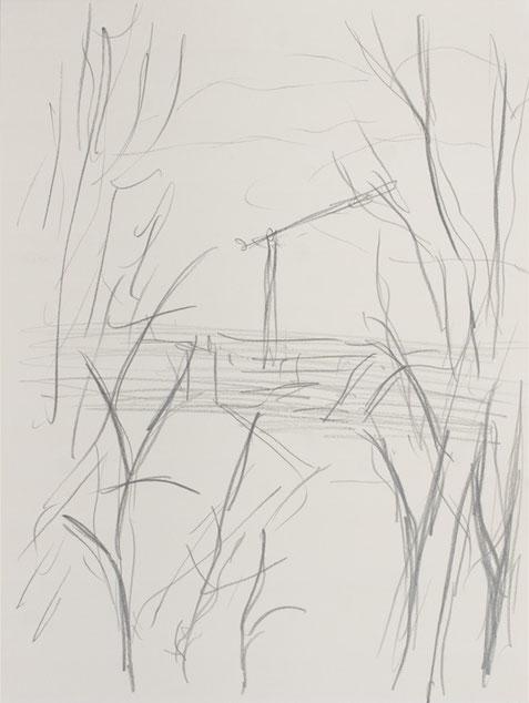 O.T. / 2016 / 32 x 24 cm / Bleistift auf Papier