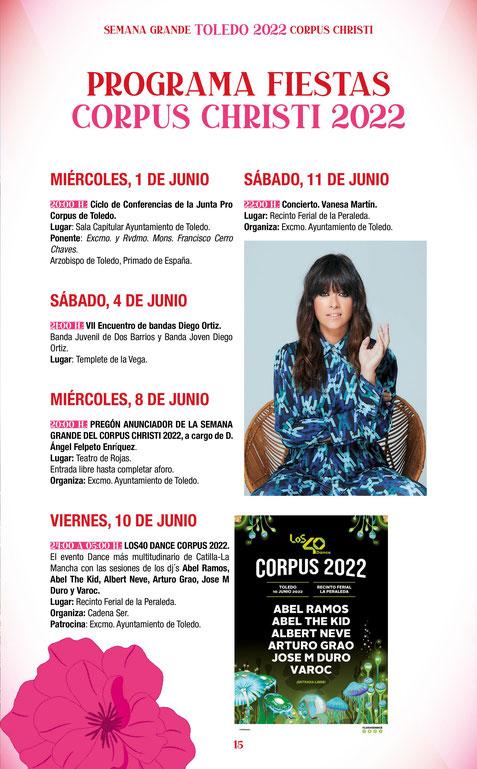 Corpus en Toledo