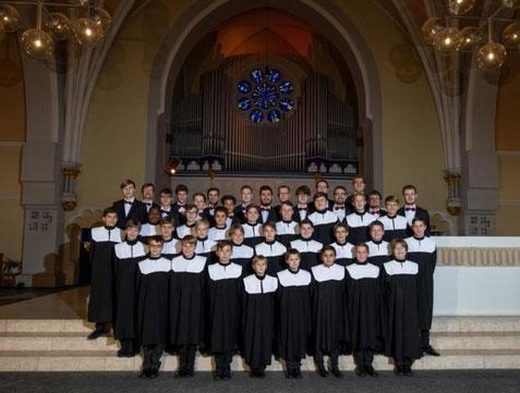 Aufstellung in der Oranier-Gedächtnis-Kirche Wiesbaden-Biebrich