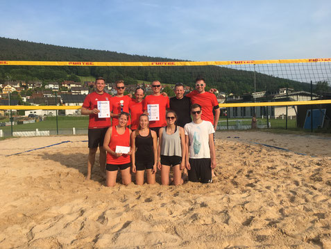Die Finalisten aus Großheubach