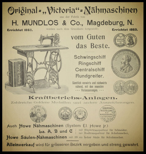 1905 Advert