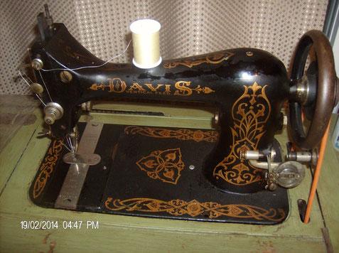 DAVIS  VF  Model 8  # 2.71?.272          www.quiltingboard.com